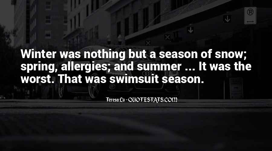 Quotes About Spring And Summer #1154409