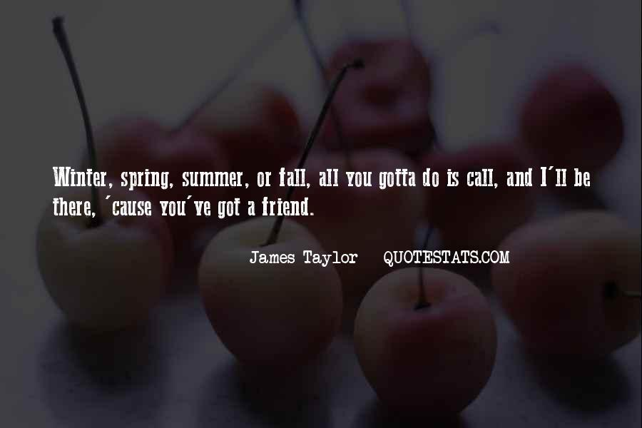 Quotes About Spring And Summer #119589