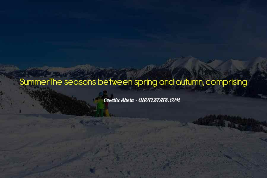 Quotes About Spring And Summer #132674
