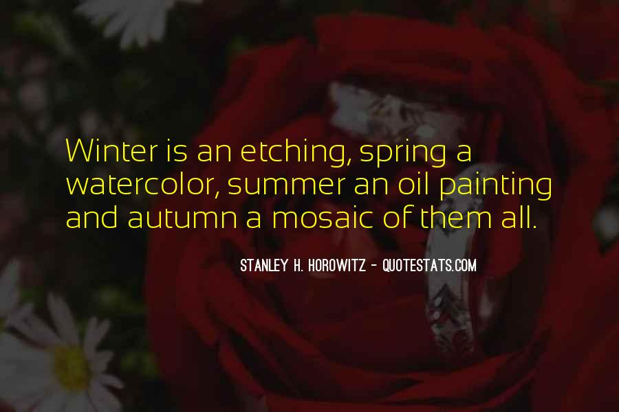 Quotes About Spring And Summer #235620