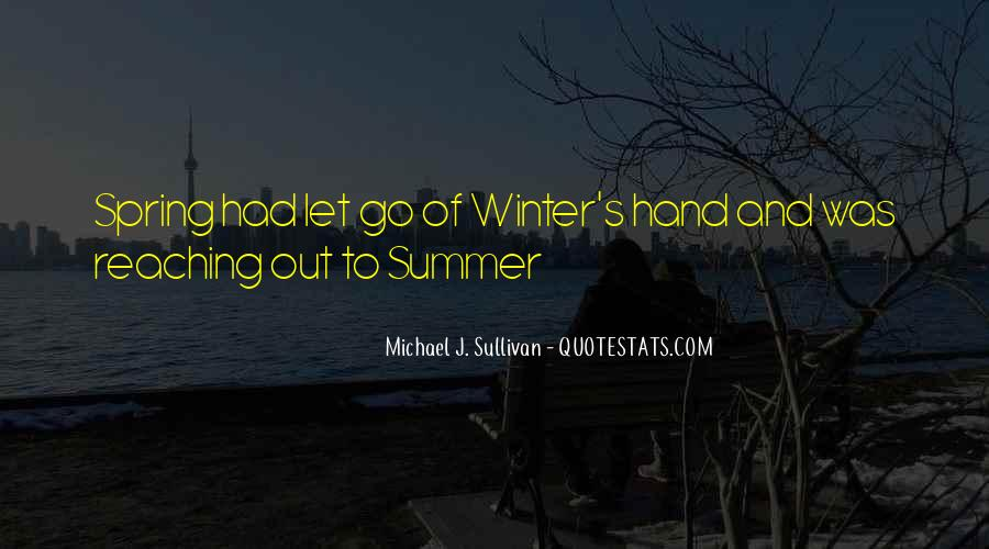 Quotes About Spring And Summer #247114
