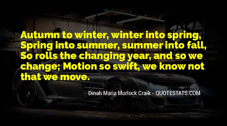 Quotes About Spring And Summer #267958