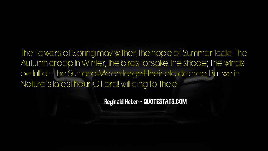 Quotes About Spring And Summer #289050