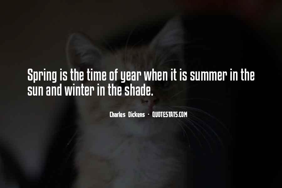 Quotes About Spring And Summer #345895