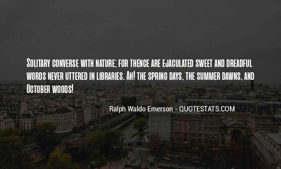 Quotes About Spring And Summer #40825