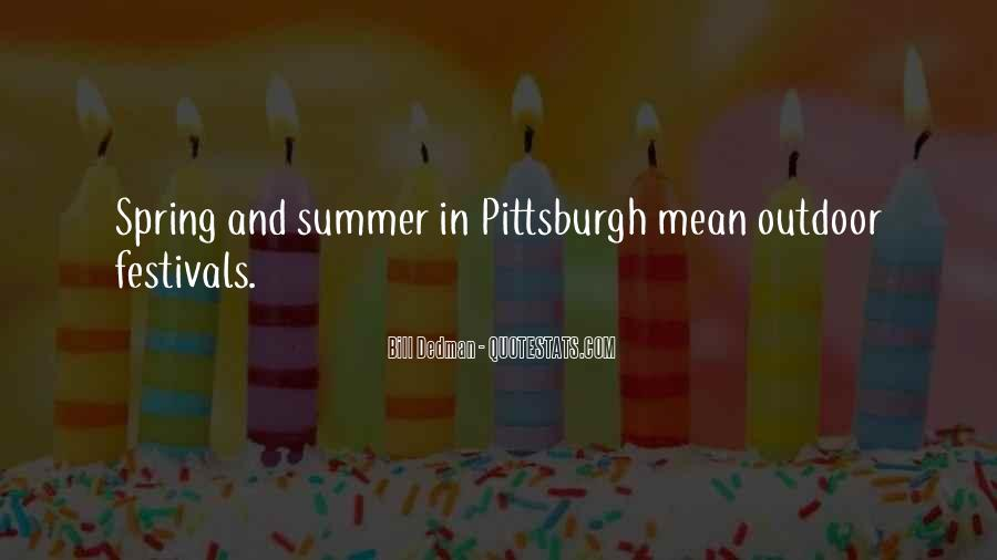 Quotes About Spring And Summer #442383