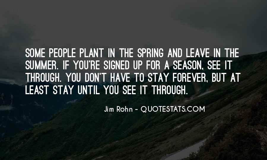 Quotes About Spring And Summer #54085