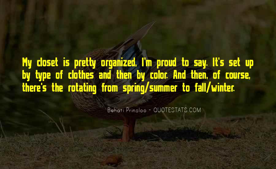Quotes About Spring And Summer #56792