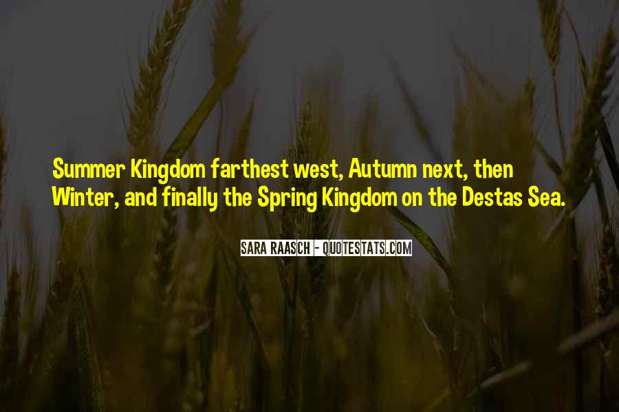 Quotes About Spring And Summer #585638