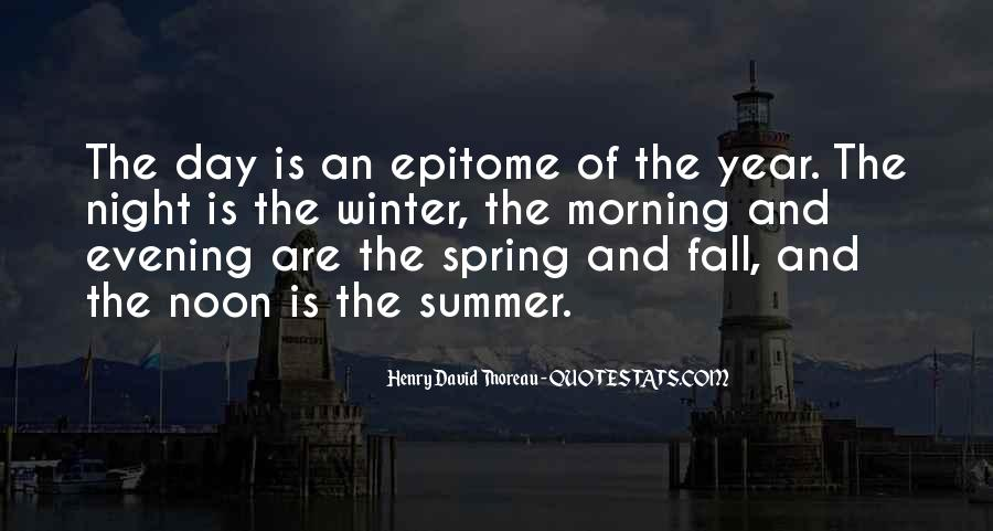 Quotes About Spring And Summer #59235