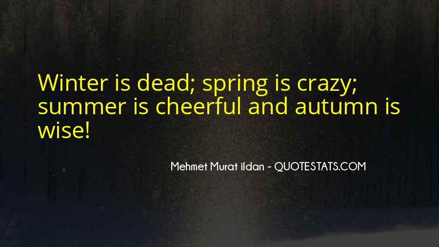 Quotes About Spring And Summer #627274