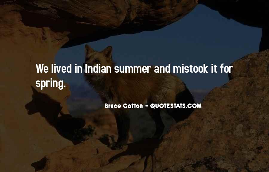 Quotes About Spring And Summer #635429