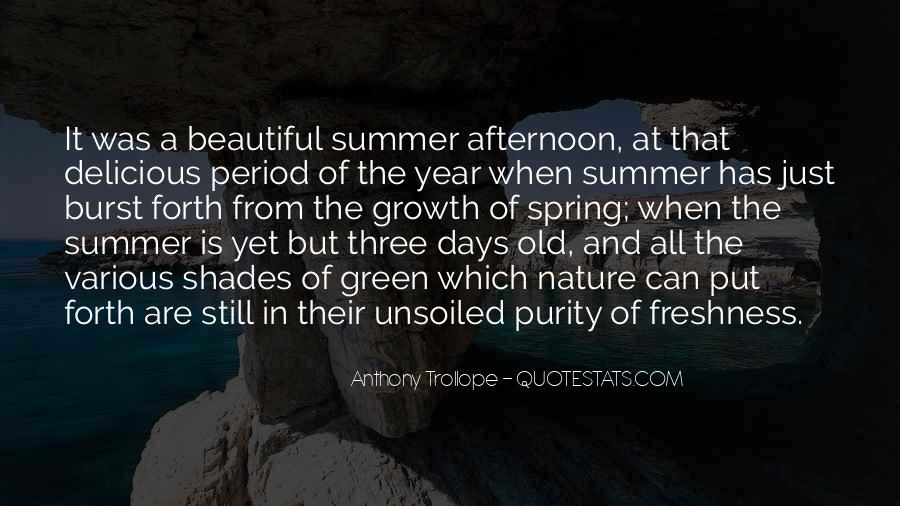 Quotes About Spring And Summer #850427
