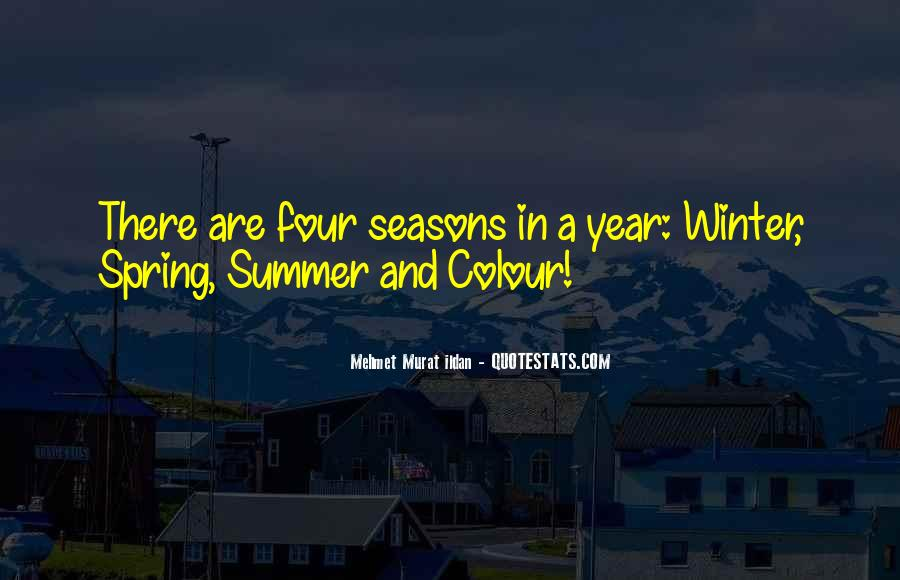 Quotes About Spring And Summer #895108