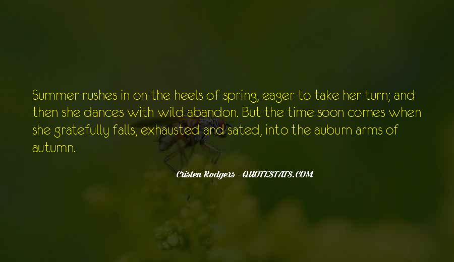 Quotes About Spring And Summer #918528