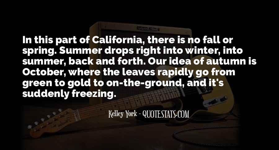 Quotes About Spring And Summer #97575