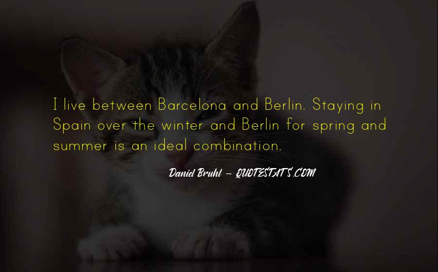 Quotes About Spring And Summer #986618