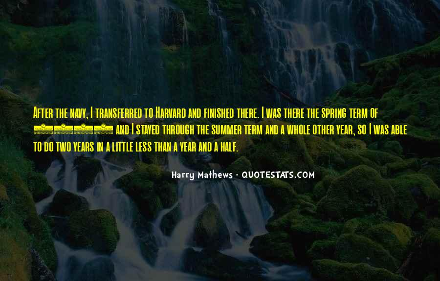 Quotes About Spring And Summer #998616