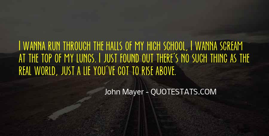 Quotes About School Halls #587142