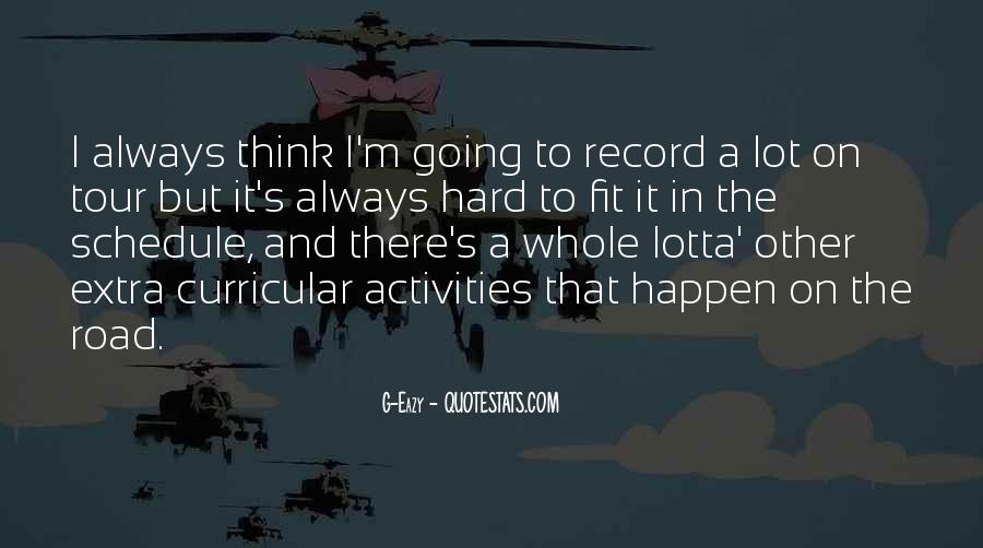 Quotes About Co Curricular Activities #521752