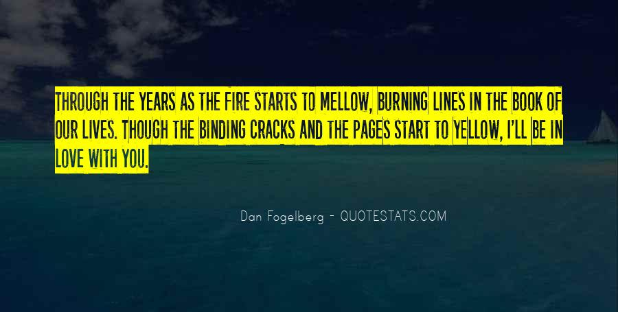 Quotes About Burning #89252