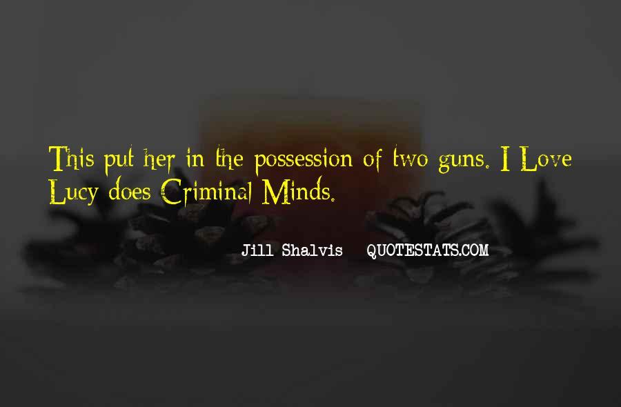 Quotes About Criminal Minds #1521358