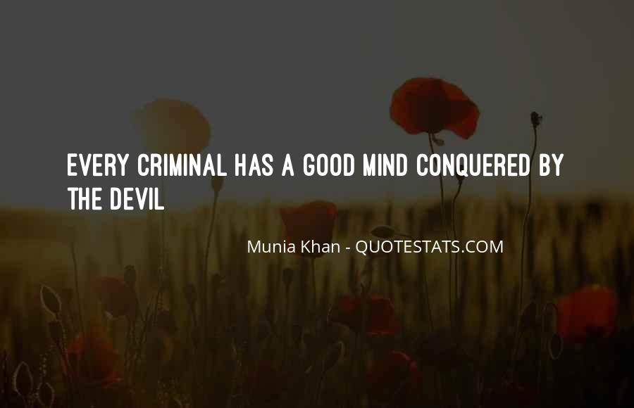 Quotes About Criminal Minds #1614613