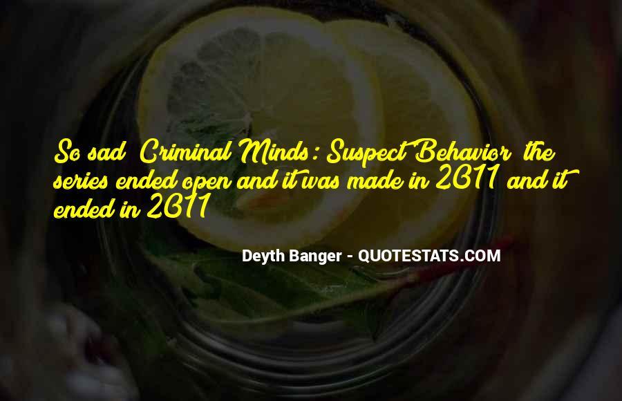 Quotes About Criminal Minds #1701436