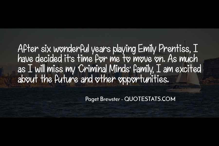 Quotes About Criminal Minds #1782135