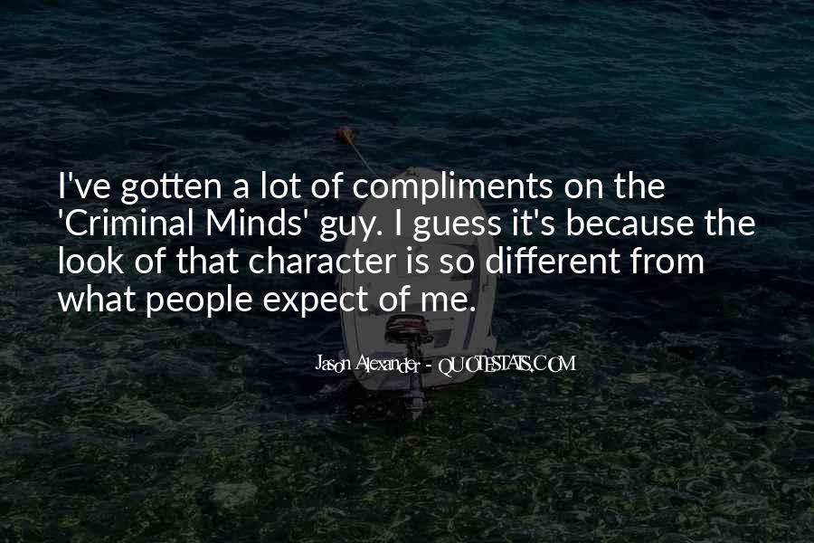Quotes About Criminal Minds #237341