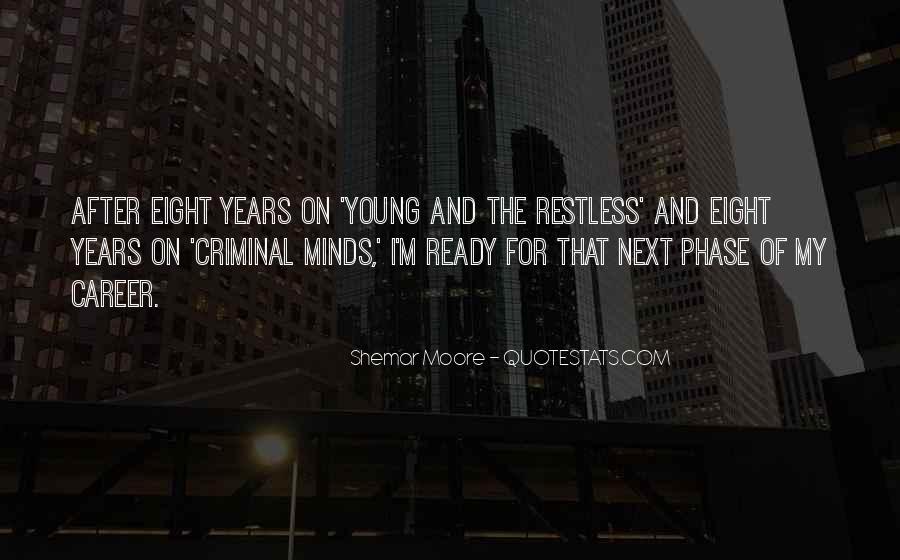 Quotes About Criminal Minds #277555