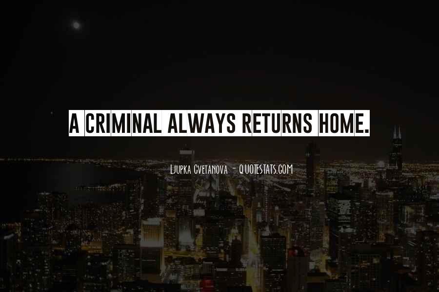 Quotes About Criminal Minds #292873