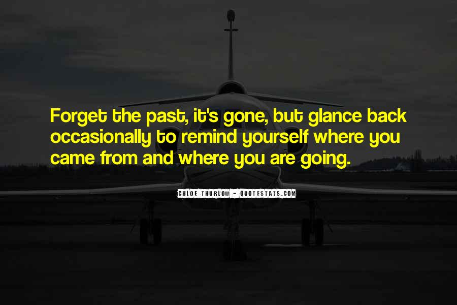 Quotes About Looking Forward Not Back #60216