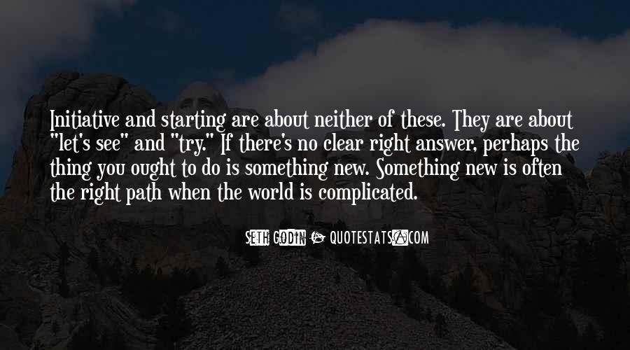 Quotes About Try Something New #71004