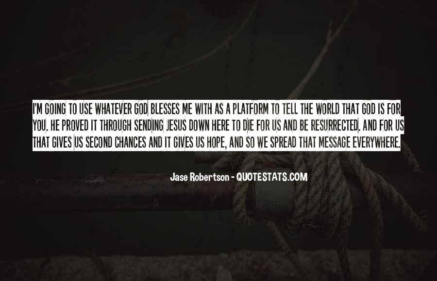 Quotes About God Giving You A Second Chance #1142336