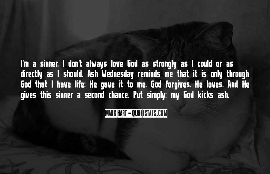 Quotes About God Giving You A Second Chance #1148914
