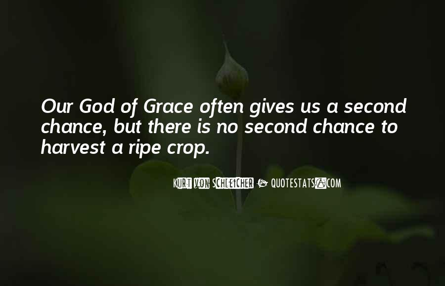 Quotes About God Giving You A Second Chance #1493890