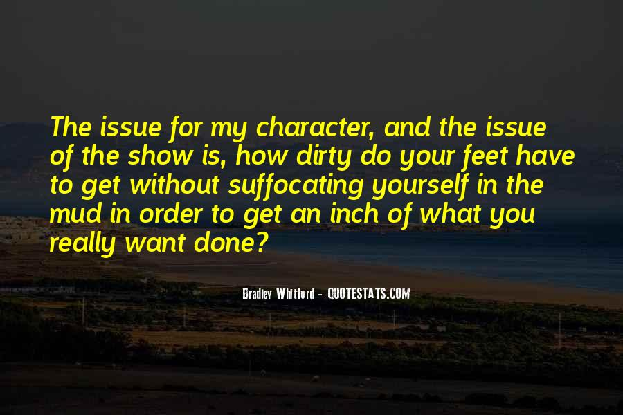 Quotes About Dirty Feet #1483270