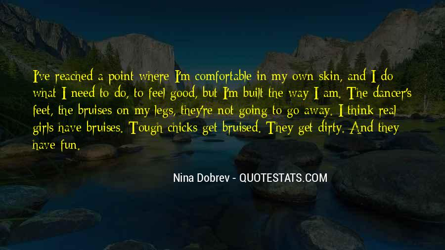 Quotes About Dirty Feet #1650006