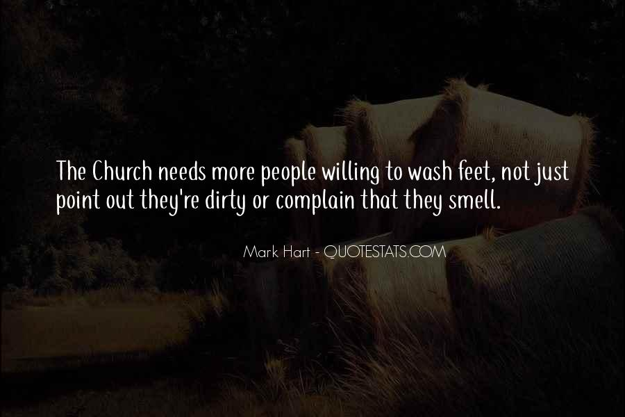 Quotes About Dirty Feet #572271
