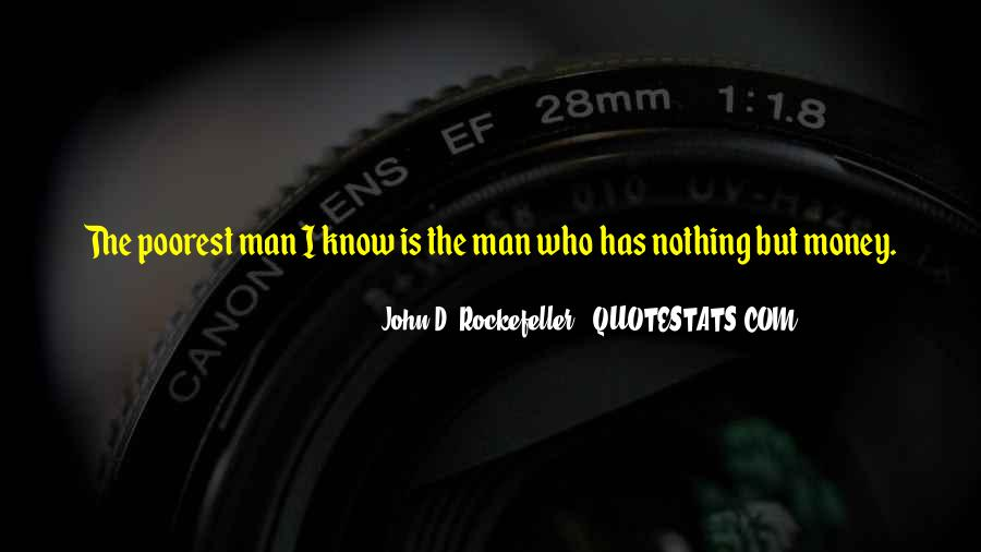 Quotes About Rockefeller #119605