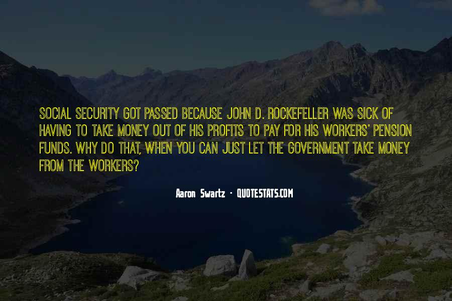 Quotes About Rockefeller #18213