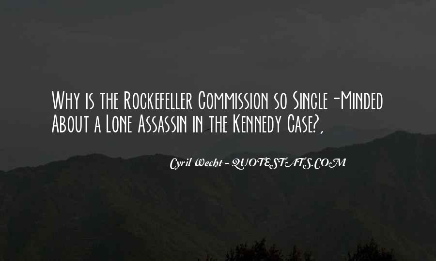 Quotes About Rockefeller #193942