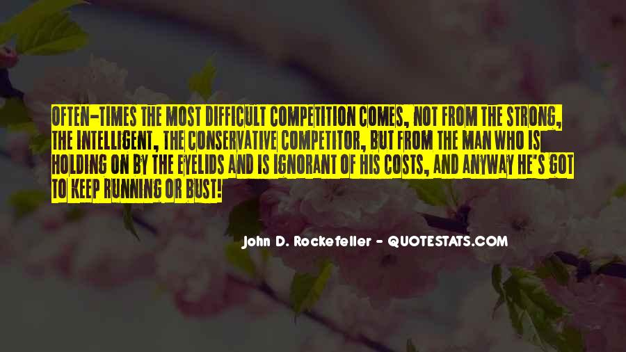 Quotes About Rockefeller #212851