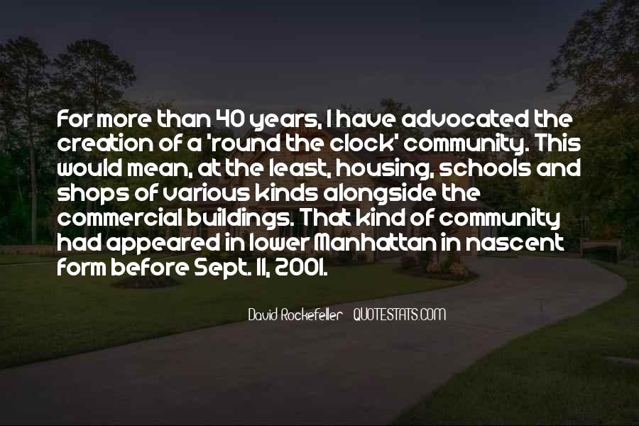 Quotes About Rockefeller #217728