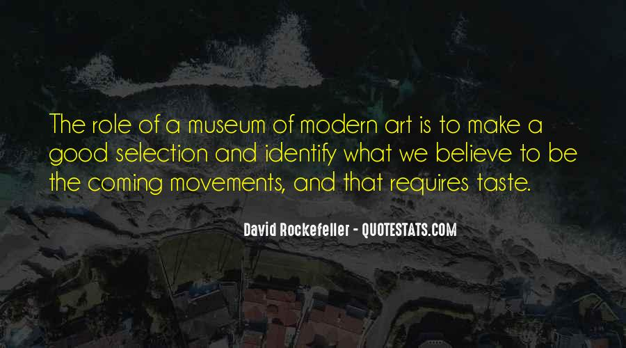 Quotes About Rockefeller #234583