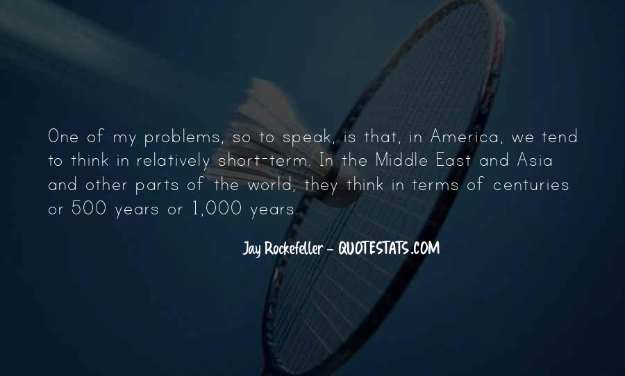 Quotes About Rockefeller #285782