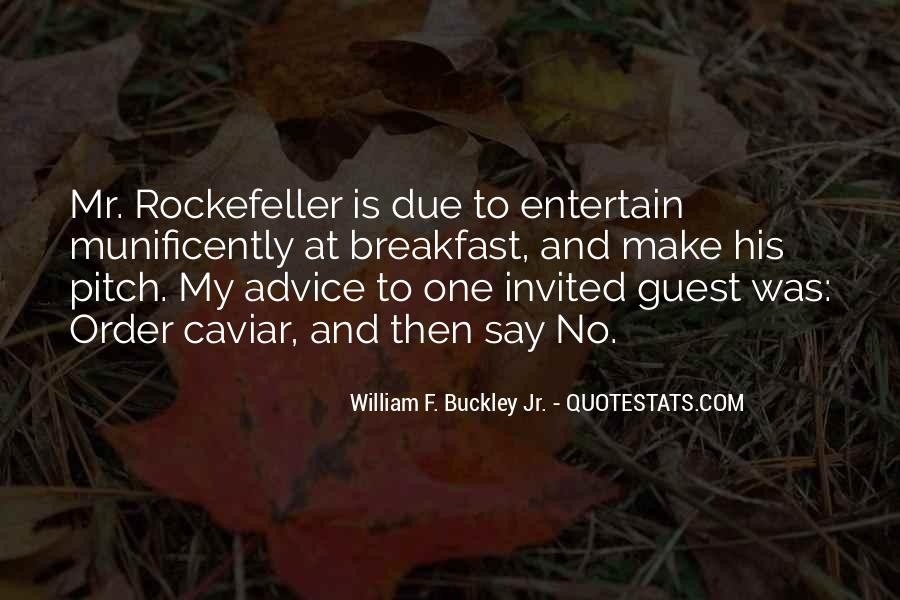 Quotes About Rockefeller #287098