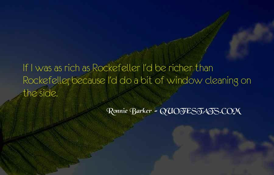 Quotes About Rockefeller #310601