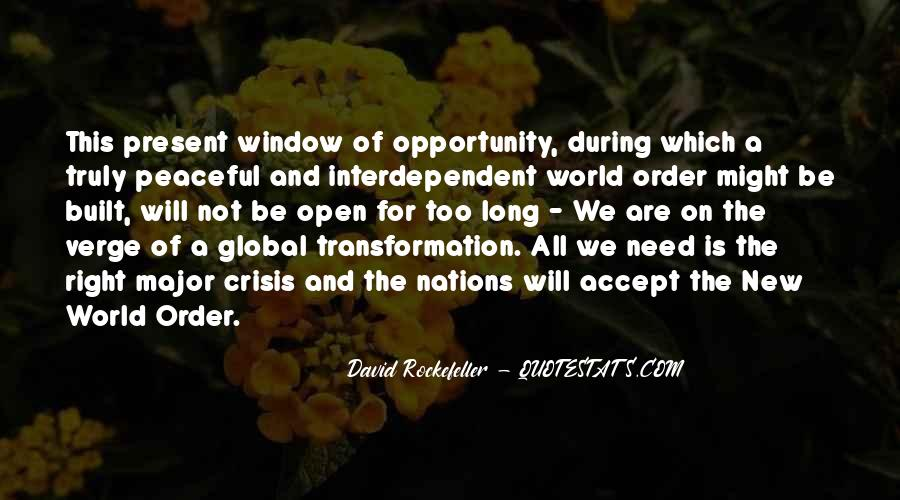 Quotes About Rockefeller #315170